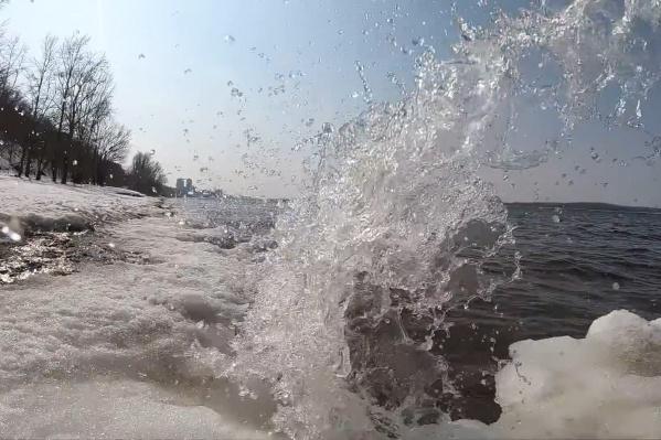 Речной прибой ничем не хуже морского