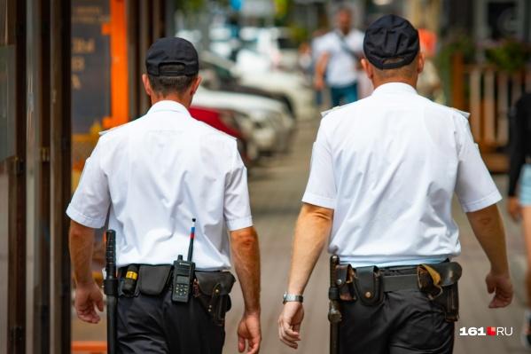 Полицейские оперативно задержали подозреваемого
