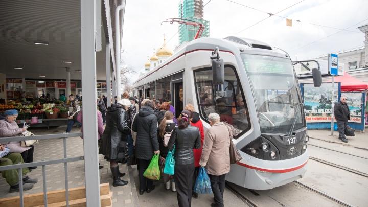 Из-за реконструкции улицы Станиславского в Ростове изменятся трамвайные маршруты