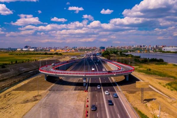 После реконструкции на дороге станет на четыре полосы больше