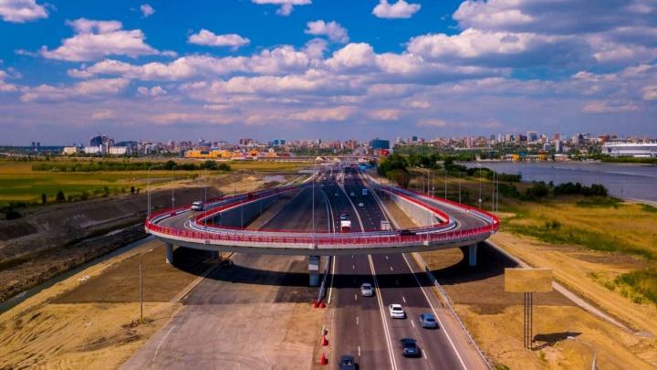 На Южном въезде в Ростов начали строить пойменный мост