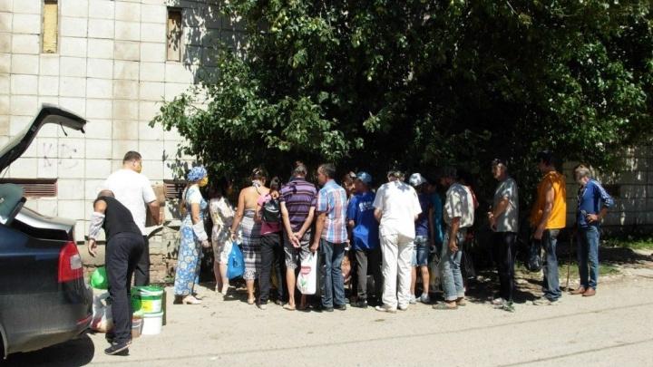 У «Красного Октября» накормили 26 бездомных волгоградцев