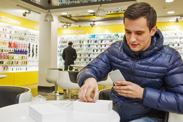 Новосибирцы купили за 11 месяцев 395 тысяч телефонов