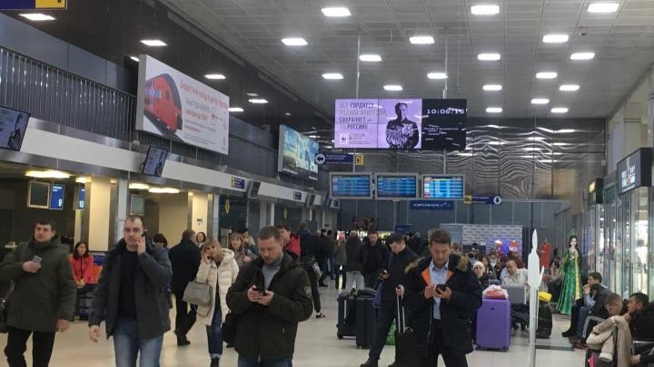 Челябинский аэропорт возобновил работу