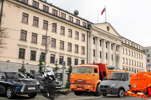 Автопарку народных избранников позавидует любое автотранспортное предприятие