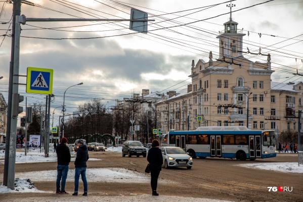 ДТП произошло, когда троллейбус ехал от Ярославля-Главного в сторону Брагино