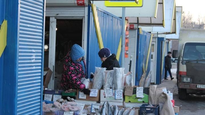 «Официально его никогда не было»: власти готовят к сносу рынок на Матросова