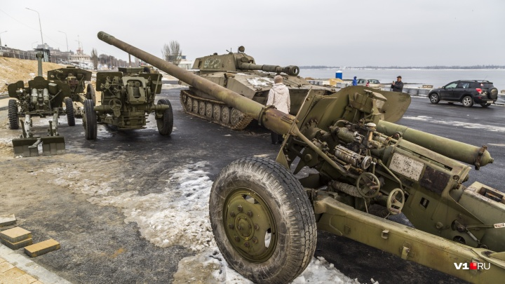 «Привезём танк и БТР»: в Волгограде у «Гасителя» расширяют парк военной техники