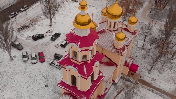 Городские власти узаконили храм на пересечении Московского шоссе и проспекта Масленникова