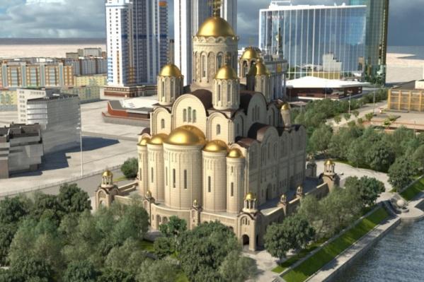 Пока неясно, построят храм в сквере у Драмы или нет