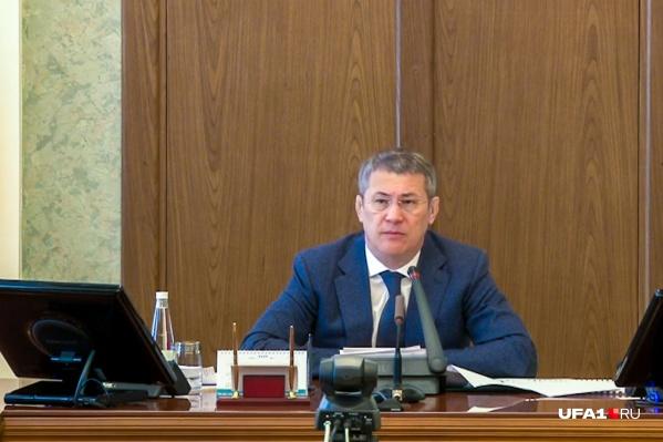 Где пройдет встреча, Радий Хабиров не уточнил
