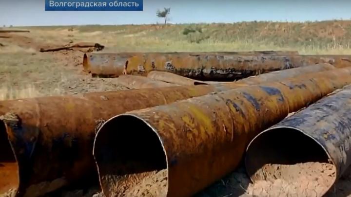 «Может закончиться экологической катастрофой»: Первый канал снял сюжет о Волгоградской области