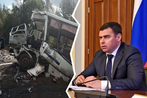 Решение о выделении помощи принял губернатор Дмитрий Миронов