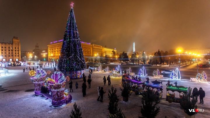 Баттлы и лотереи: в Волгограде на площади Павших Борцов начинается трёхдневная дискотека