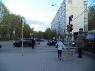 Женщина вышла из трамвая, хотела перебежать дорогу, но попала под колёса