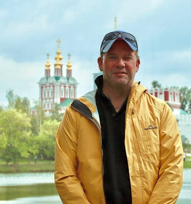 Тим Уоррингтон в России