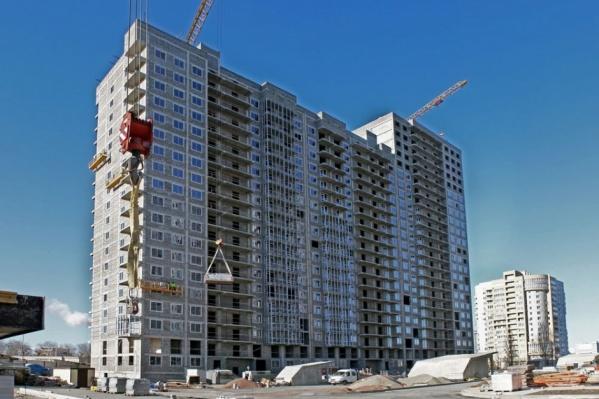 Жилой комплекс строят рядом с «Парк Хаусом»