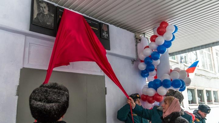 Самарская школа №29 получила имя известного пожарного Анатолия Карпова