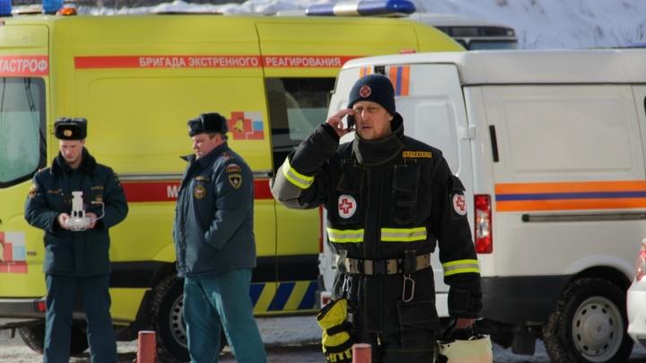 Экстренные службы Перми устраняют разлив ртути в микрорайоне Бахаревка