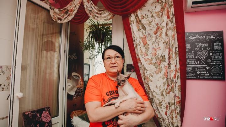«В очереди не стояла». Семья тюменской учительницы с девятью кошками должна покинуть служебное жилье