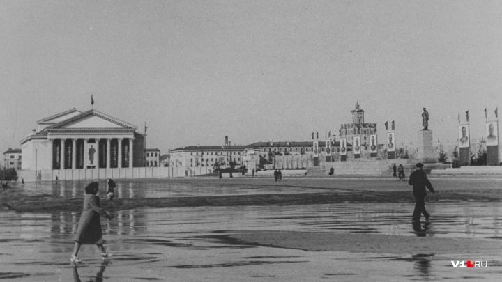 Волгоград vs Сталинград: когда деревья еще были маленькими