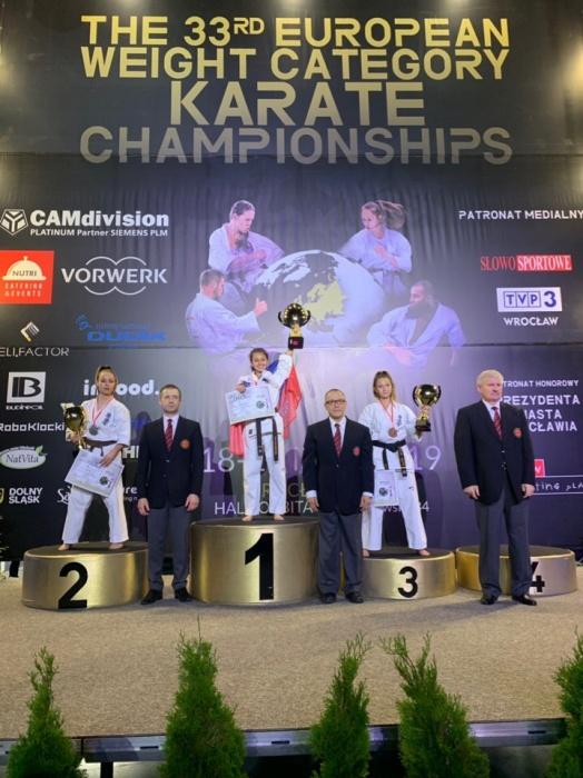 Регина Сатвалдиева выступала в дисциплине «ката» в категории 16–17 лет