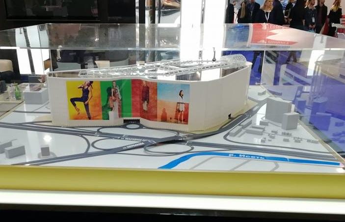 Вот так сейчас выглядит макет нового торгово-транспортного пересадочного узла на Ботанике