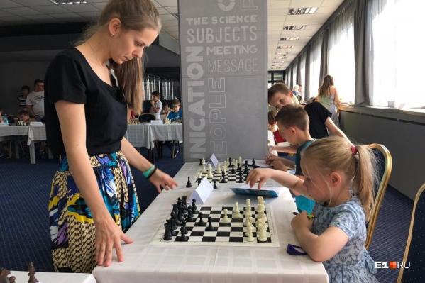 Мастер-класс Ангелине дала олимпийская чемпионка Татьяна Косинцева