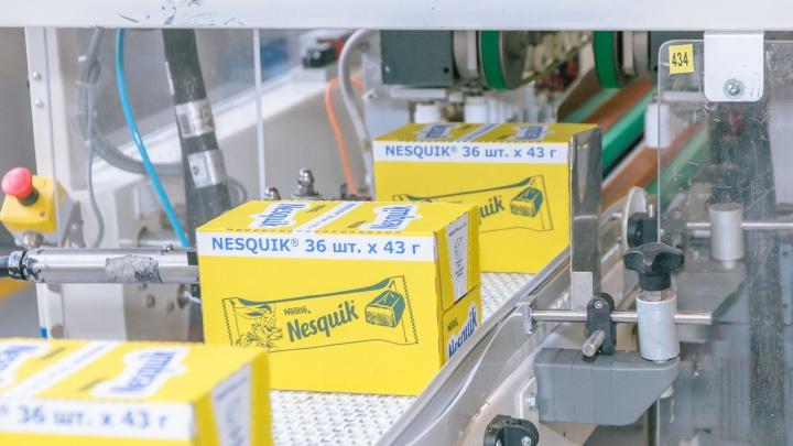 ФАС: в Самаре незаконно делали батончики-двойники KitKat иNesquik