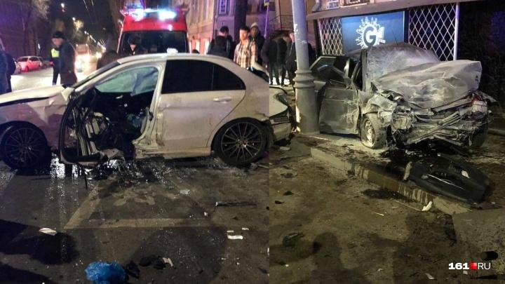 Обгон по встречке: в центре Ростова произошло смертельное ДТП