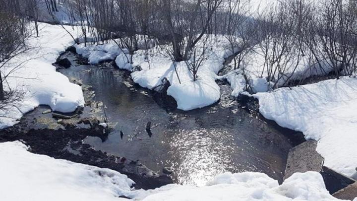 В Уфе под дамбой просочилась вода: повода для паники нет