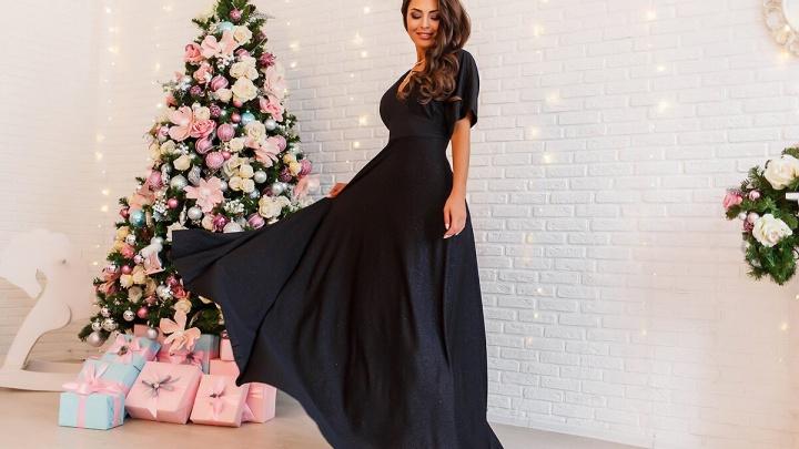 Известный автор платьев Мария Локоть представила коллекцию новогодних нарядов