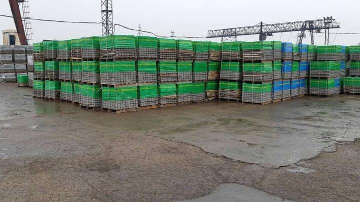 Завод по производству тротуарной плитки запустили в Сосновоборске