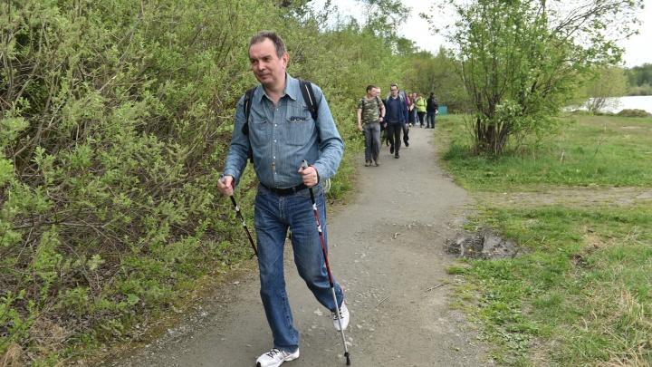 Здесь шел Вася: участники «Майской прогулки» смогут посадить именные деревья на Трехозерке