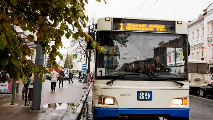 В Ярославле власти сообщили о подорожании проезда в общественном транспорте