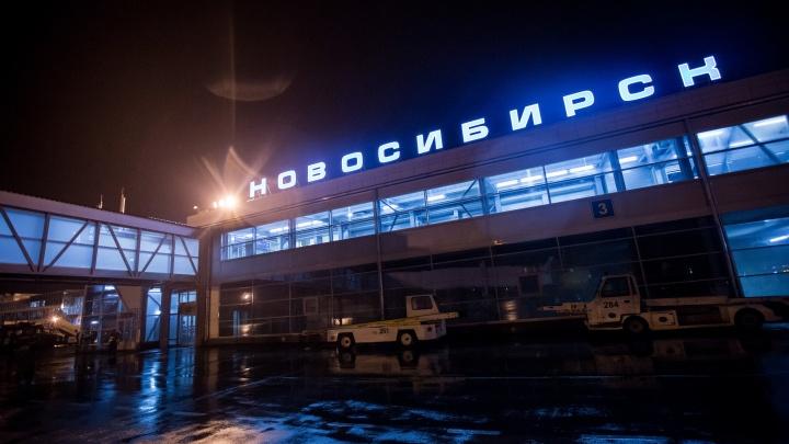 Дебошир подрался с пилотом перед вылетом рейса из Новосибирска в Москву