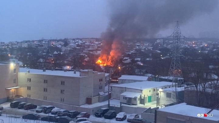 Новые подробности пожара на Шмидта: в доме нашли баллоны с газом