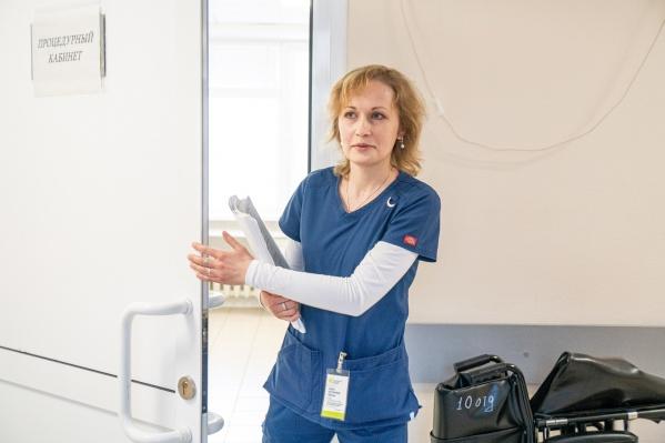 Хирург Елена Щёкина из-за автокатастрофы год не могла работать