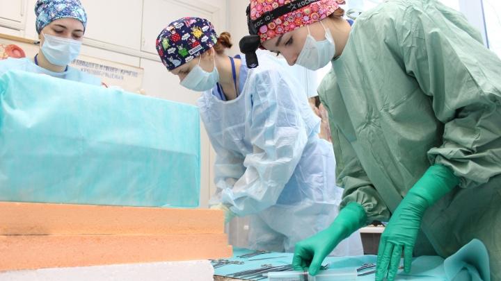 «Не люблю таскать биоматериалы домой»: студентка СГМУ — о кружке кройки и шитья для будущих хирургов