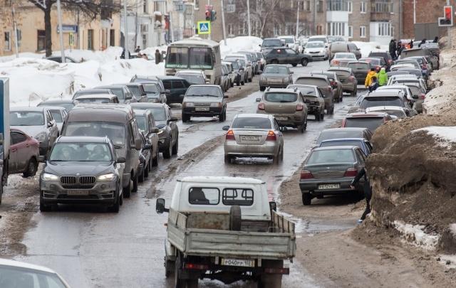 Уфа попала в мировой рейтинг загруженных дорог
