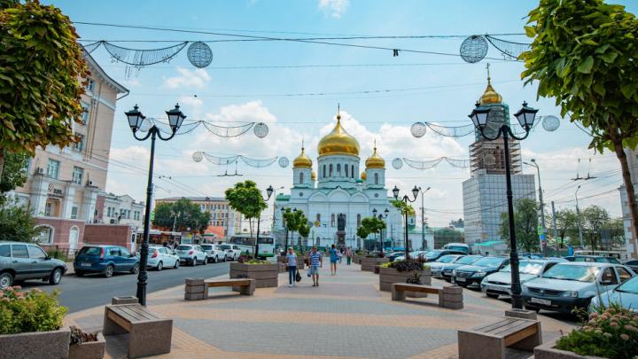 Только одну улицу в Ростове признали полностью пригодной для инвалидов