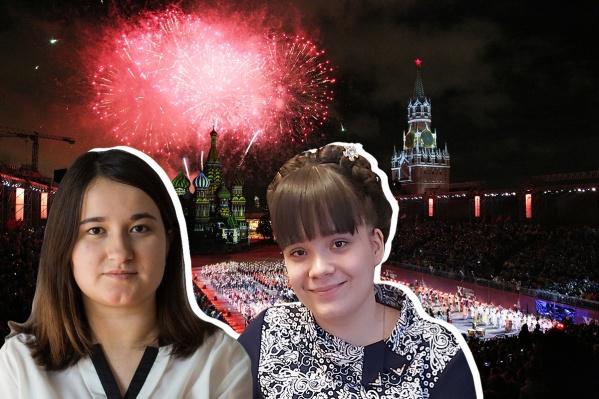 Маша и Настя отправятся в Первопрестольную на весенних каникулах