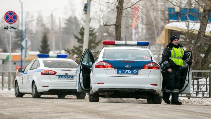 В Красноярске перекрывают дороги в день выборов президента