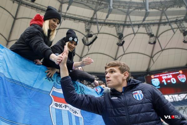 Волгоградский «Ротор» добрался до первой строчки Футбольной национальной лиги