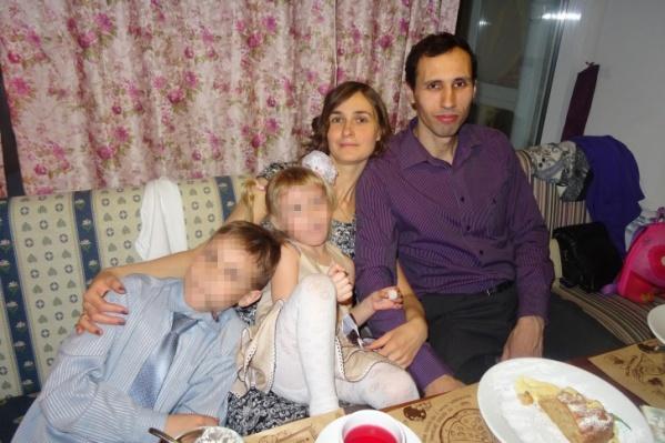 Дочери Константина и Натальи было 6 лет, сыну — 12