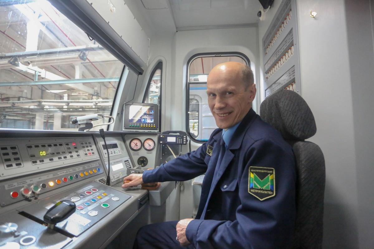Анатолий Губанов, машинист с тридцатилетним стажем
