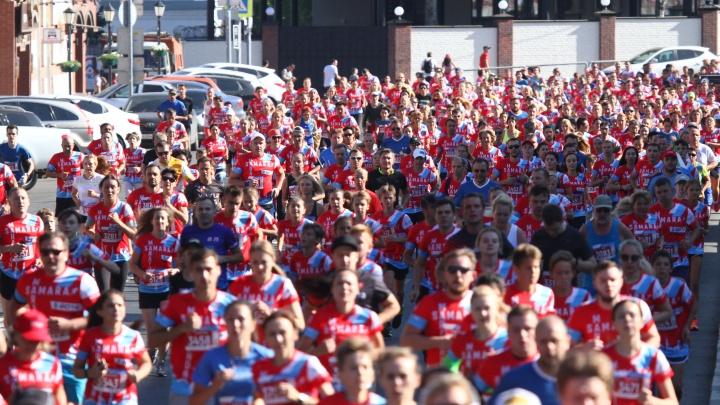 Это рекорд! В самарском марафоне приняли участие около 4000 спортсменов