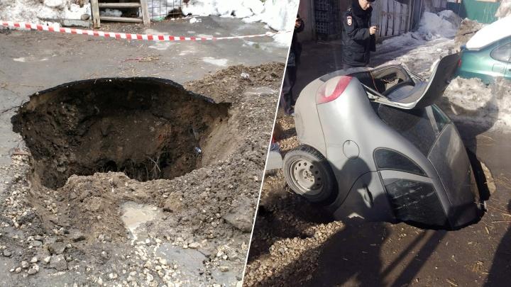 «Ульяну доставали через багажник»: подробности провала «Калины» под землю на Молодогвардейской