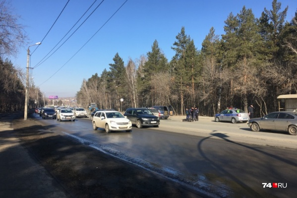 Авария произошла 9 апреля на улице Худякова