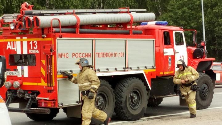 Из-за грозы под Тюменью произошло четыре пожара